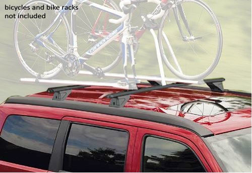 2008 - 2010 Dodge Nitro Cross Bars Roof