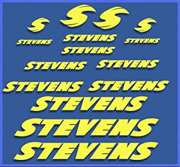 PEGATINAS STEVENS BIKE DR1118 VINILO ADESIVI DECAL AUFKLEBER КЛЕЙ MTB STICKERS BIKE