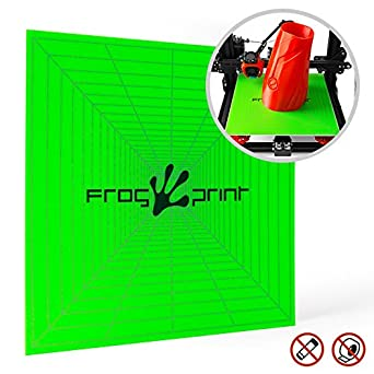 amazon com frog print 3d premium printing build surface for perfect