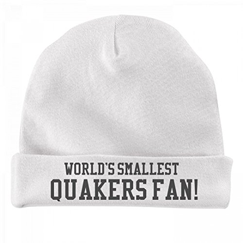 FUNNYSHIRTS.ORG World's Smallest Quakers Fan!: Infant Baby Hat