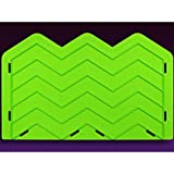 Large Chevron Onlay Mold by Marvelous Molds