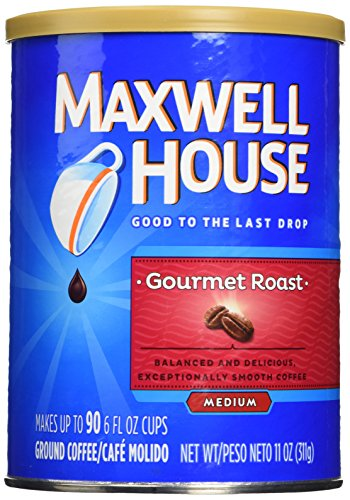 Maxwell House Gourmet Roast Ground Coffee (11 oz Canister, Pack of ()