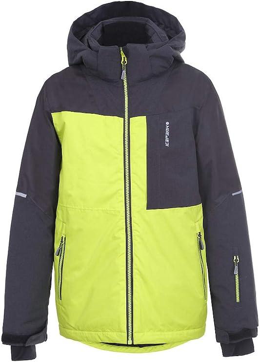 Icepeak Boys' LEITH JR Jacket, Aloe, 140 (EU),ICEPEAK (ICEBL),450033564I