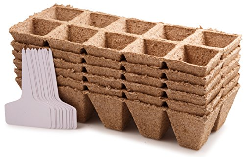 planters-choice-seed-starter-pots-trays-biodegradable-peat-6-pack-60-cells-10-plastic-plant-markers