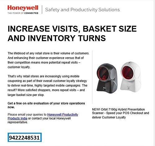 Honeywell MK7190g Orbit 7190 Omni-Directional 2D Barcode