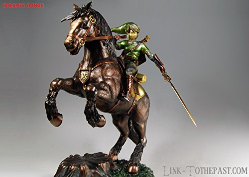 Legend of Zelda Zelda Link On Epona Exclusive Statue