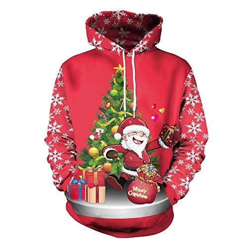 T Felpa Giacca Giacca Da Coppia Rosso Vintage Uomo Cappuccio Uomo Uomo Camicia Unisex 3D Shirt Uomo Abbigliamento hoodie Con D Uomo Gilet Divertenti Giacca Uomo Weant Natale p1WnAA