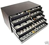 Generic O-8-O-3427-O BEADS CASE GEMSTONES S BOX T 5 DRAWER MSTONES BOX TRAYS ISPLAY JEWELRY DISPLAY HX-US5-16Apr11-188
