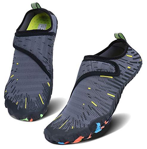 cf9bf1b37fb8de JointlyCreating Women Men Water Shoes Quick Dry Barefoot Sports Aqua  Durable Outsole Shoes for Swim Beach Aerobics Surf Yoga Exercise