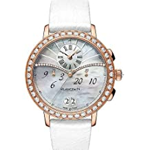 Blancpain Chronographe Mother of Pearl Dial Rose Gold Diamond Ladies Watch 3626-2954-58A