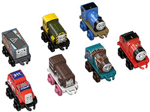 Fisher-Price Thomas The Train Engine, 7 Pack (Thomas Train Characters)