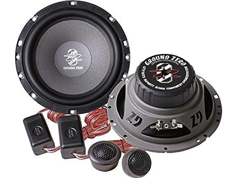 Ground Zero Titanium altavoz Sistema de compostador 320 W Opel Astra H a partir de 05 lugar de montaje delantera: Puertas/trasera:: Amazon.es: Electrónica