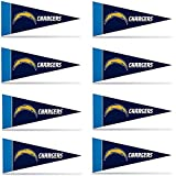 San Diego Chargers Mini Pennant Set: by Rico
