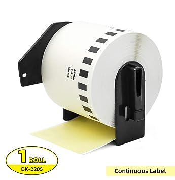 Amazon.com: Etiqueta Orison continuo longitud rollo de papel ...