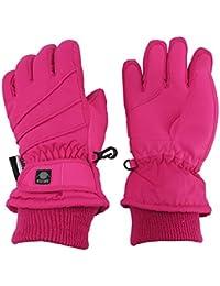 Kids Bulky Thinsulate Waterproof Winter Snow Ski Glove With Ridges