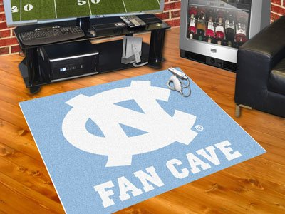Chapel Hill Rug - Brand New UNC University of North Carolina - Chapel Hill Man Cave All-Star Rug 34