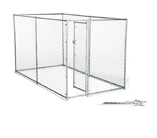 Dog Kennel For XXL Dogs Large Breed Chain Link Outdoor Do...
