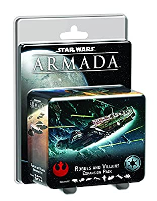 Star Wars Armada: Rogues and Villains Expansion Pack Board Game by Fantasy Flight Publishing