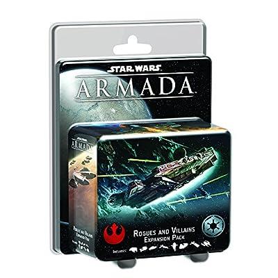 Star Wars: Armada - Rogues and Villains: Fantasy Flight Games: Toys & Games