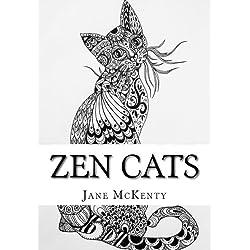 ZEN Cats: Drawing Amazing Zen Doodle Cats (Zen Doodle Art) (Volume 3)