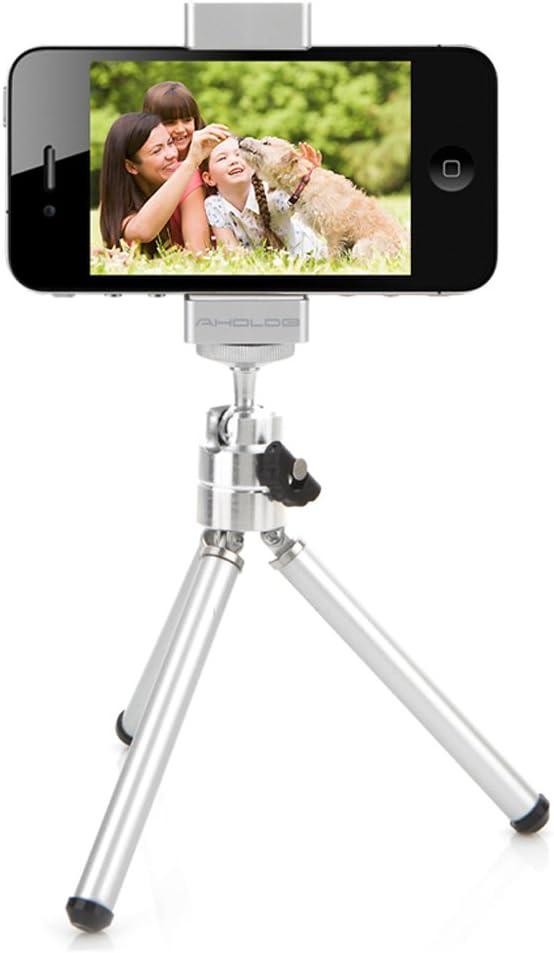 Aholdb - Soporte para smartphone para trípode (universal ...