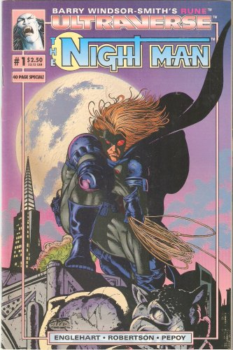 Ultraverse Night Man #1 October 1993