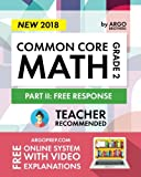 Argo Brothers Math Workbook, Grade 2: Common Core Free Response (2nd Grade)