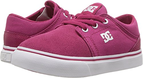 DC Girls' Trase Slip, Raspberry, 6 M US (Purple Dc Shoes)