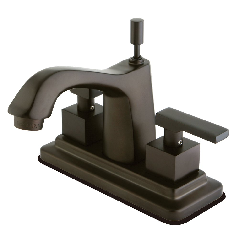 Kingston Brass KS8645QLL Executive 4 Inch Twin Lever