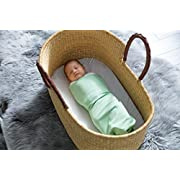 The Ollie Swaddle (Meadow) --Helps to reduce the Moro (startle) reflex -- Made from Custom moisture-wicking material