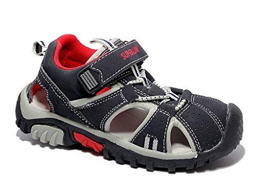 Kinder Sandalen Sneaker Kinderschuhe Sommer Freizeitschuhe Klettschuhe Sandalette Navy