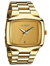 Nixon - A487502-00 - Montre Mixte - Quartz Analogique - Bracelet Acier Inoxydable Doré