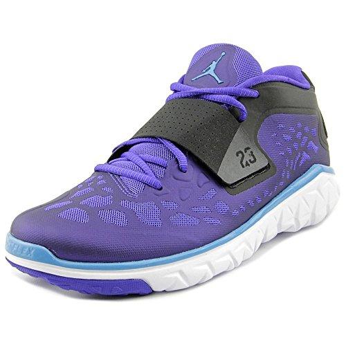 Nike 768911-407 Män Flyg Flex Tränare Två Jordan Ljus Concord / Svart / Vit