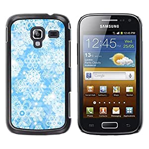 MOBMART Carcasa Funda Case Cover Armor Shell PARA Samsung Galaxy Ace 2 - Radiant Floral Energy
