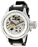 Invicta Men's 1242 Russian Diver Quinotaur Mechanical Silver Skeleton Dial Watch