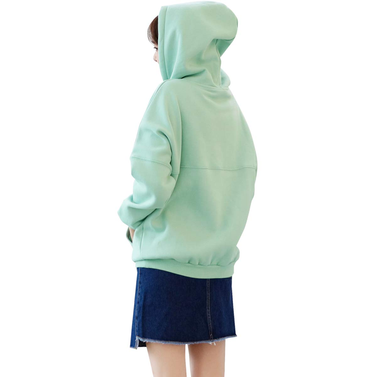 Fashion Sweatshirts (Light Green, Medium)
