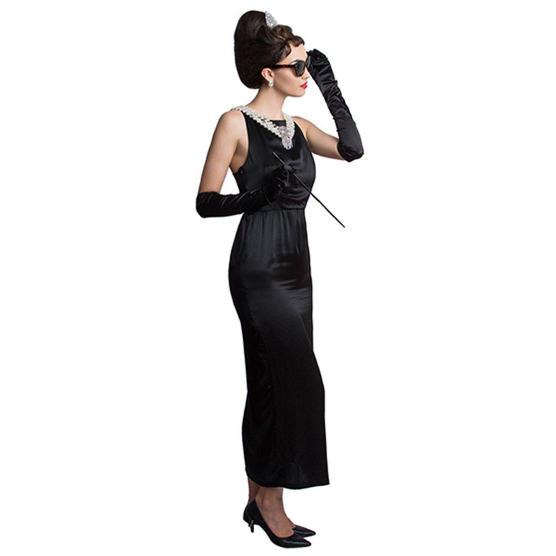 Audrey Hepburn ''Breakfast at Tiffany's'' Complete Costume Set - Satin Version (S) w/Gift Box by Utopiat (Image #3)