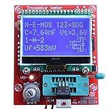 Yosoo M328 LCD 12864 Transistor Tester DIY Kit Diode Triode Capacitance LCR ESR Meter
