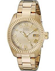 Invicta Womens 20316SYB Angel 18k Gold-Plated Stainless Steel Watch