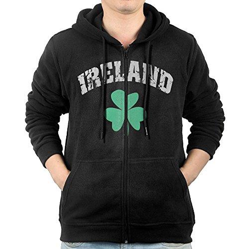 Irish Shamrocks Zip Hoodie - 9