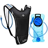 Hydration Pack Backpack with 2L Leak-Proof Water Bladder Lightweight Water Backpack for Cycling