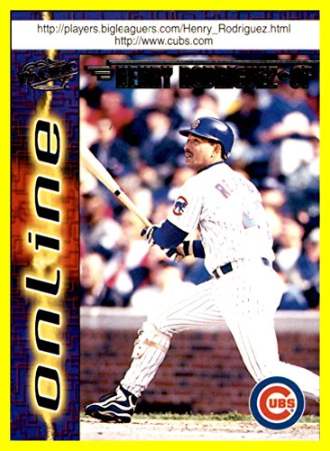 1998 Pacific Online #152 Henry Rodriguez chicago cubs ()