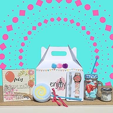 Caja regalo cumpleaños para mujer: Amazon.es: Alimentación y bebidas
