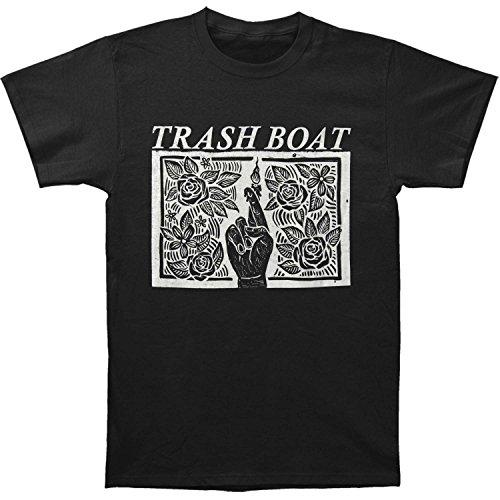 Trash Boat Men's Album Artwork T-shirt Small Black