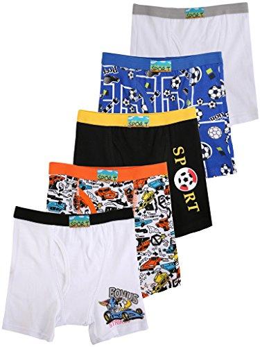 Boys underwear boxer briefs size 8 - Trenters.com