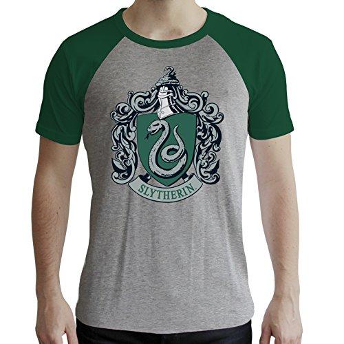 Abystyle hombre Harry Camiseta Slytherin Potter para Zqx7fBxwz0