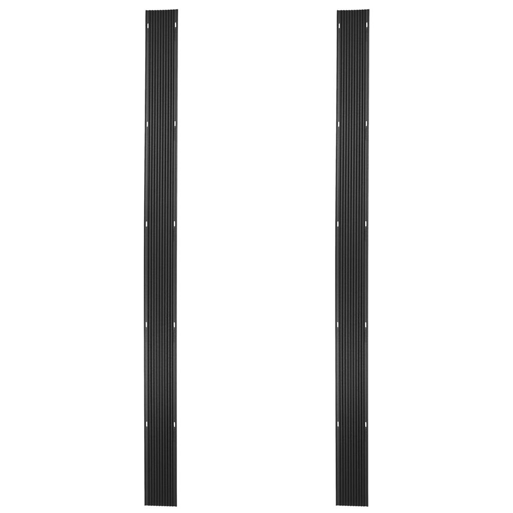 Ice Black 8ft. Snowmobile Ski Carbide Glide Protector Guides-2 Pack by Ice Black
