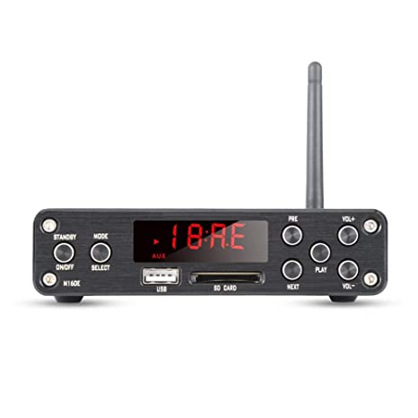 Amazon.com: Amplificador estéreo de audio HiFi con antena ...
