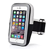 INN LIFE xi-34-case Sports Armband, Outdoor Water Resistant Running Armband Workout Gym Casual Arm Package with Key Holder for iPhone 7 Plus/6 Plus/6S Plus/Samsung Galaxy S5/S6/S7 Edge - Black