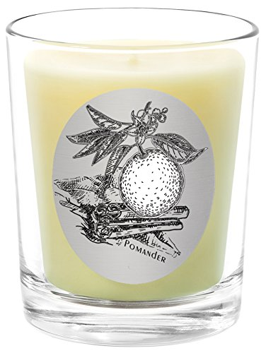 Orange Pomander Essential Oil (Qualitas Beeswax 6-1/2-Ounce Candle, Pomander Scented)